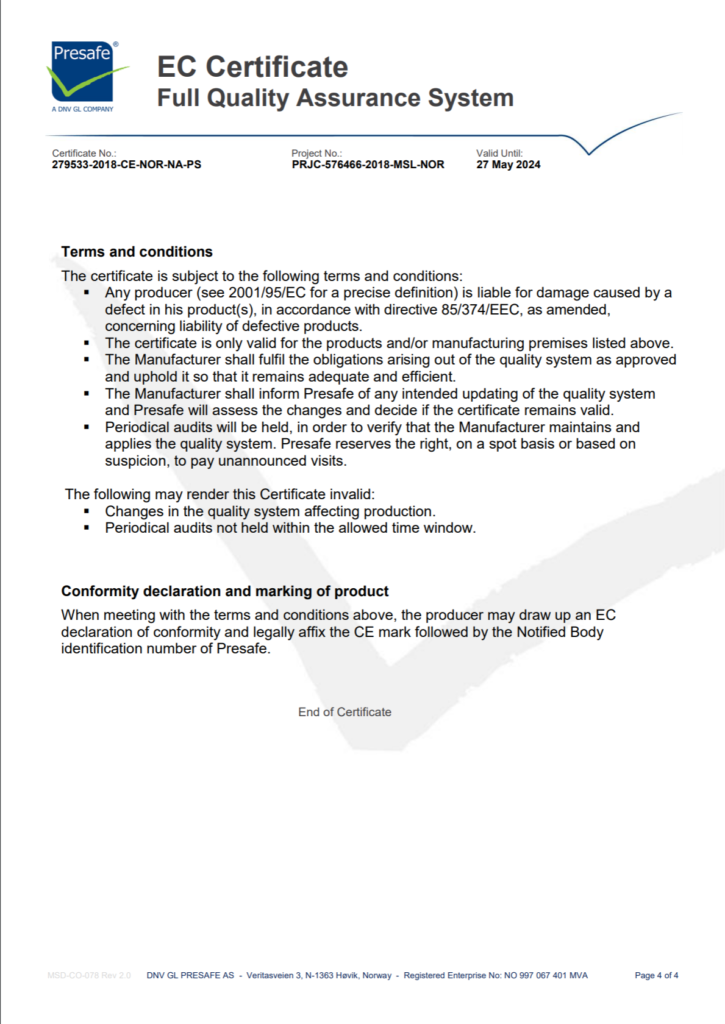 EC cerficate page 4